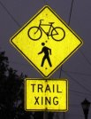 Trail Xing sign