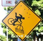 Barrett Bike Sign